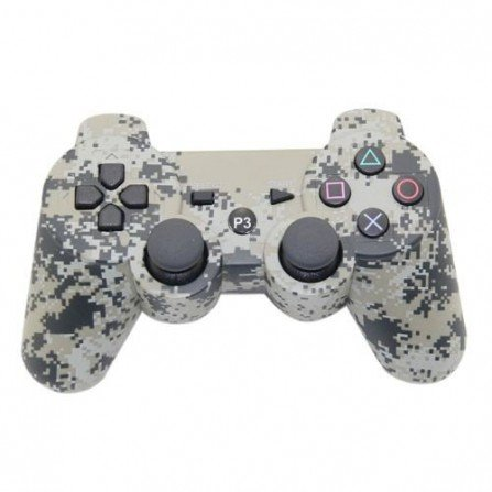 Mando inalámbrico PS3 (Camo digital)
