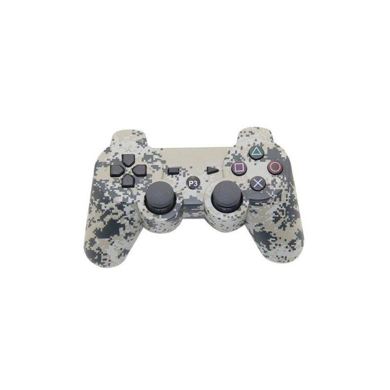 Mando inalámbrico PS3 (Camo digital)