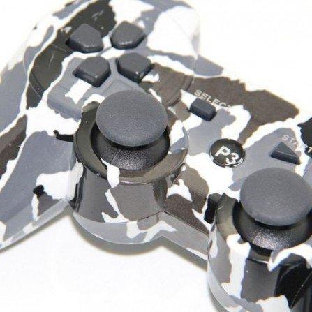 Mando inalámbrico  PS3  (Camo nieve)