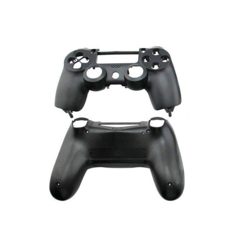 Carcasa completa + botones DualShock 4 PS4 (Negra)