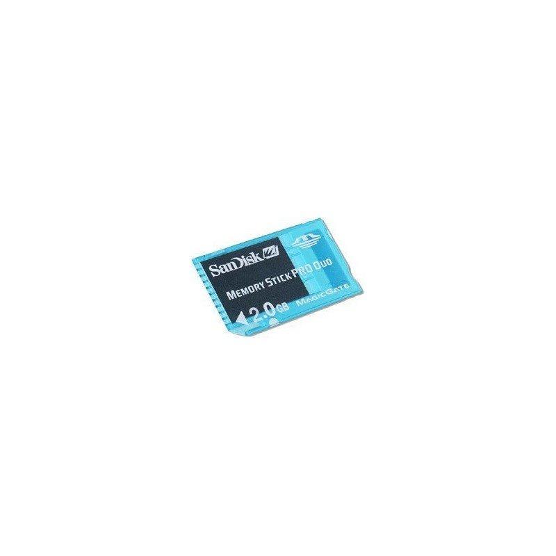 MemoryStick Pro Duo 2Gb GAMING -Sandisk ORIGINAL-