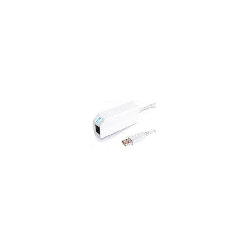 Adaptador Ethernet Wii (conecta la consola a Internet)