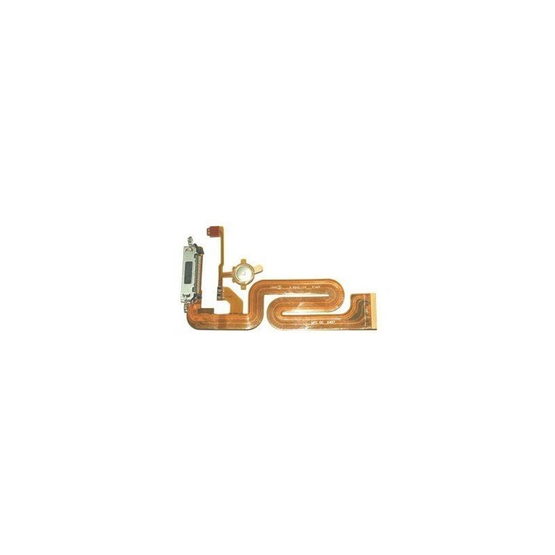 Cable Flex Conector de carga + Pulsador HOME iPhone 2G