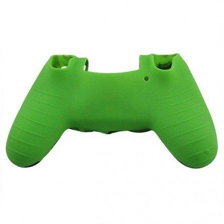 Protector silicona mandos PS4 -CAMO VERDE-