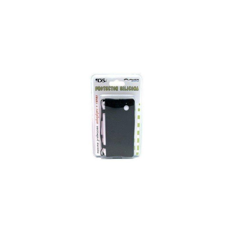 Protector silicona antigolpes DSi  ( Negro )