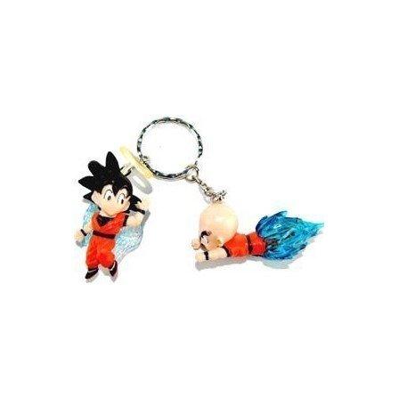 Llavero Oficial DBZ con 2 muñecos  - Nº 7 -