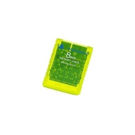 Memory card 8Mg SONY - Amarillo fluorescente -