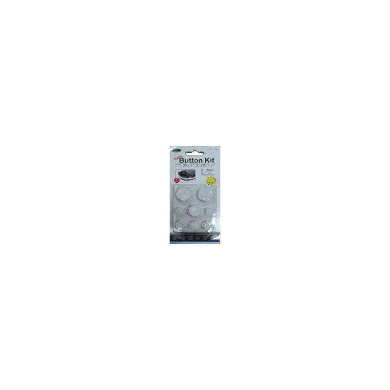 Kit botones EXTRA PSP 1000 ( Blanco )