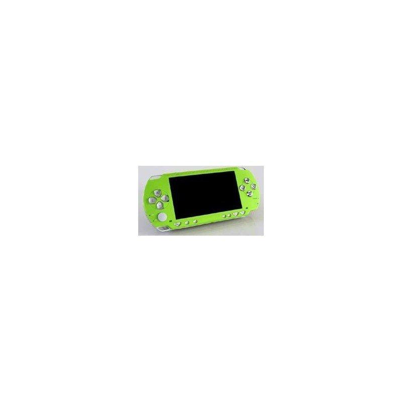 Carcasa superior PSP 1000 + Botones ^^ Verde Manzana ^^