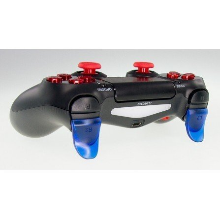 Prolongador extensor de gatillos mando PS4 AZUL