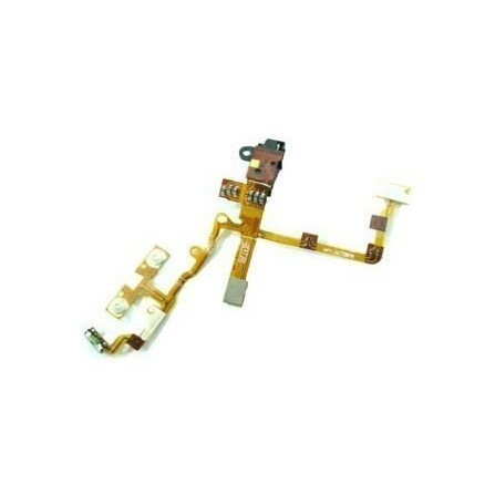 Cable flex conector auriculares + Volumen + Apagado + Hold iPhone 3G