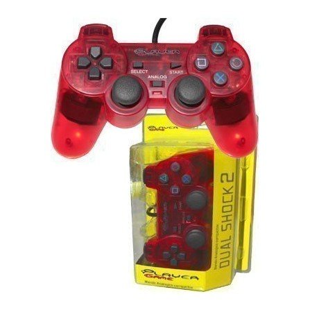 Mando PLAYERGAME PS2 *Rojo*