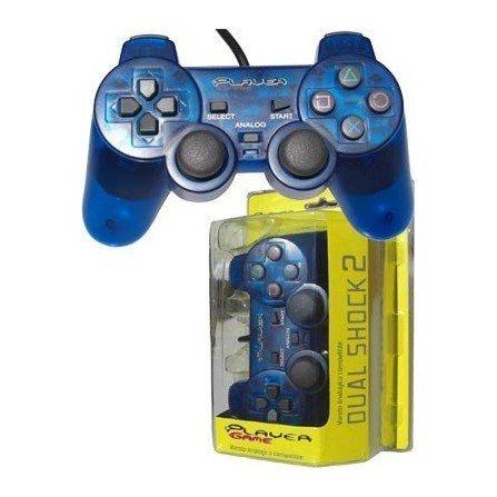 Mando PLAYERGAME PS2 *Azul*