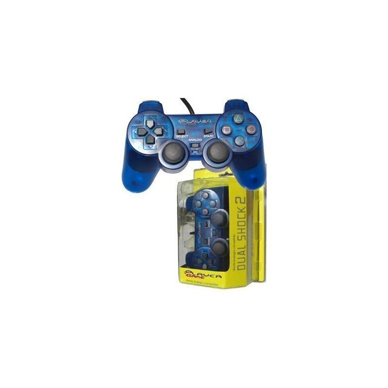 Mando PLAYERGAME PS2 *Azul*