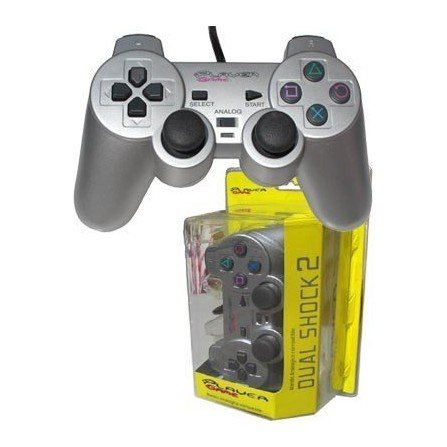 Mando PLAYERGAME PS2 *Plata*