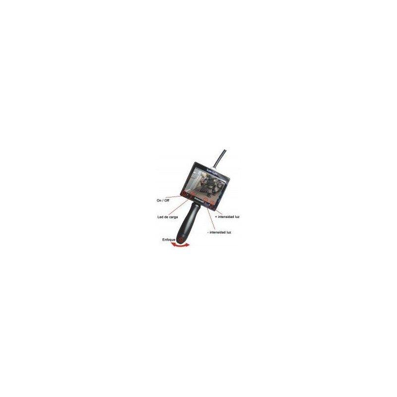 """Endoscopio digital con Pantalla LCD 3.5"""" ( SuperEyes )"""