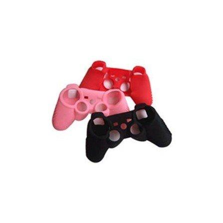 Protector silicona mandos PS3 - ROSA -