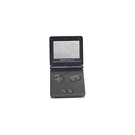 Carcasa GameBoy Advance SP - Antracita -