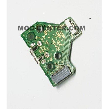 Placa carga + conector USB Mando Dualshock 4 PS4 JDS-011