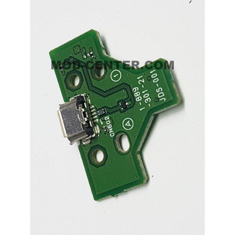 Placa carga + conector USB Mando Dualshock 4 PS4 JDS-001