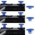 Kit Joysticks intercambiables PS4 / XBONE AZUL