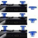Kit Joysticks intercambiables PS4 / XBONE AZUL