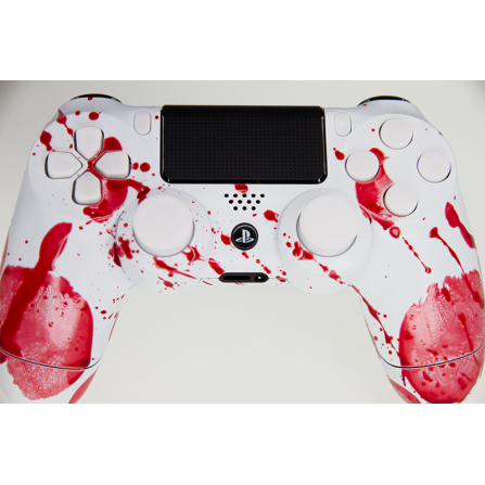 Mando DualShock 4 FULL REAL BLOOD MODz