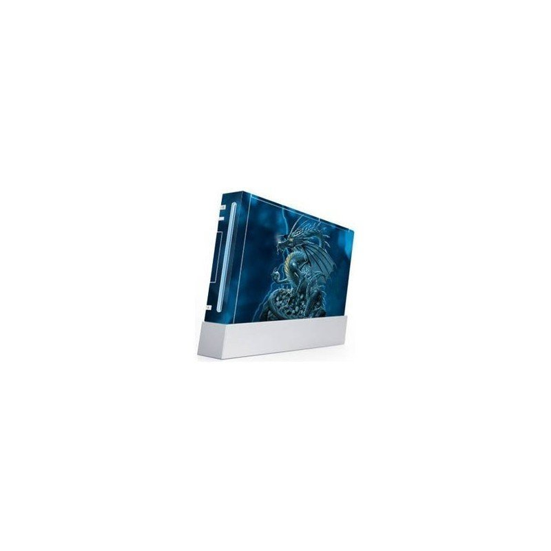 Dragon Azul skin Wii