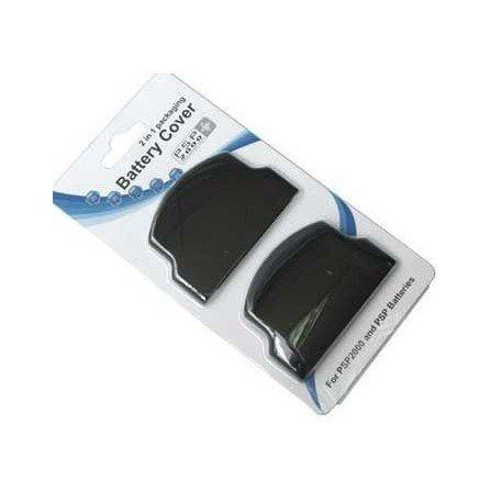 Tapa bateria Set 2 unidades PSP 2000 ( Negra )