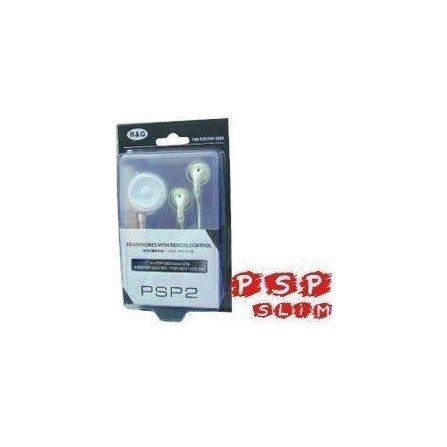 Auriculares + control remoto PSP 2000/3000