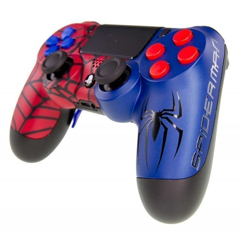 Mando DualShock 4 FULL Spiderman MODz