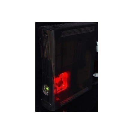 Ventilador Add On XCM XBOX360 -ROJO-