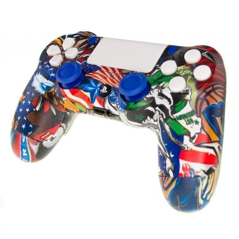 Mando DualShock 4 FULL USA LOVER MODz