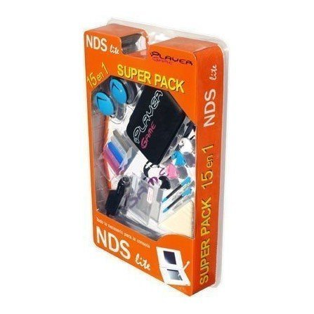 SUPERPACK PlayerGame (15 en 1) NDS Lite -NEGRO-