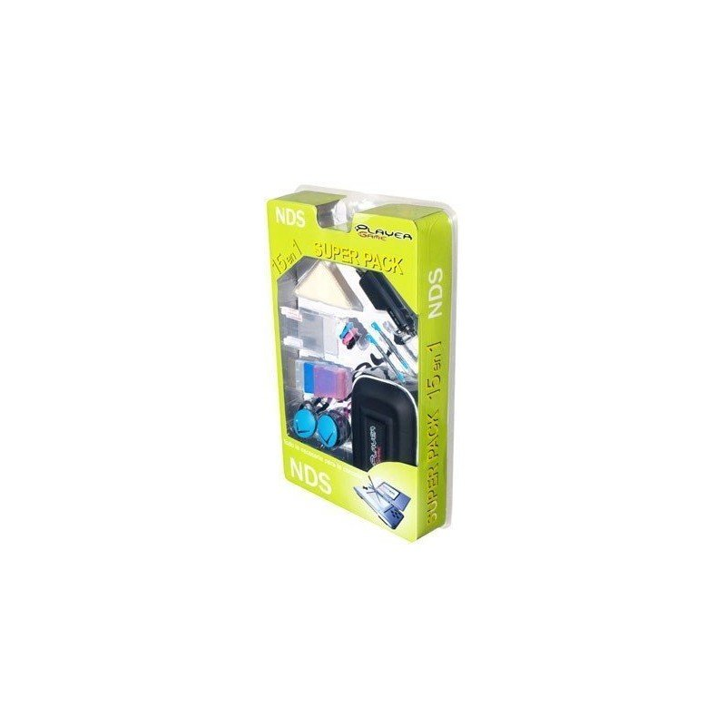 SUPERPACK PlayerGame (15 en 1) NDS -NEGRO-