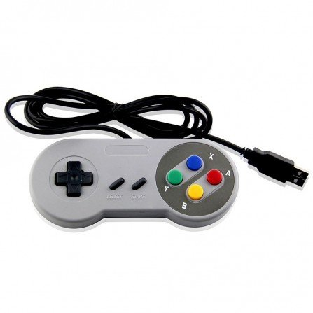 Mando clasico SNES (PC USB Y RASPBERRY)