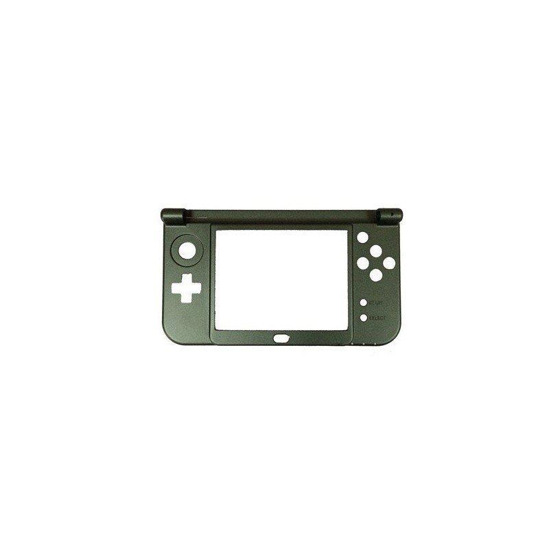 Carcasa NEW 3DS XL NEGRA (solo parte de bisagras)