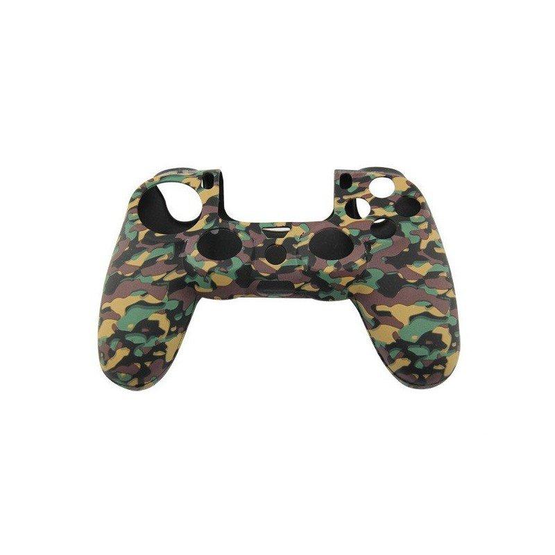 Protector silicona mandos  PS4 -CAMO Marron/Verde-