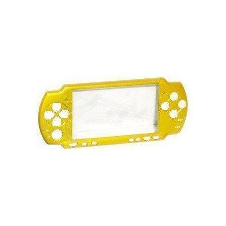 Carcasa frontal PSP 2000 - Amarilla -