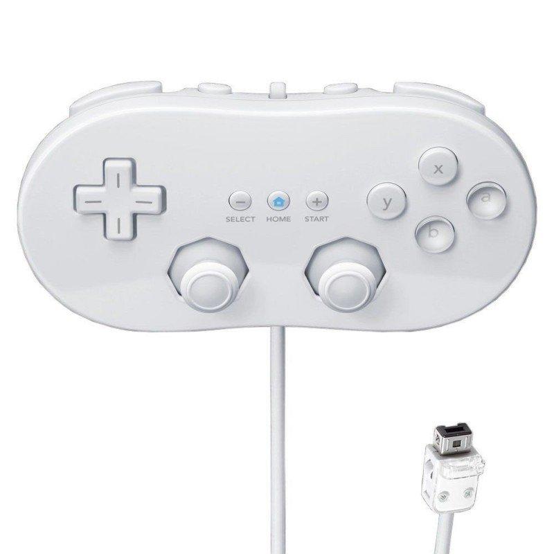 Mando Clasico  Wii  ( Blanco )