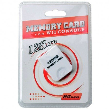 Memory Card 128Mg Wii & GameCube