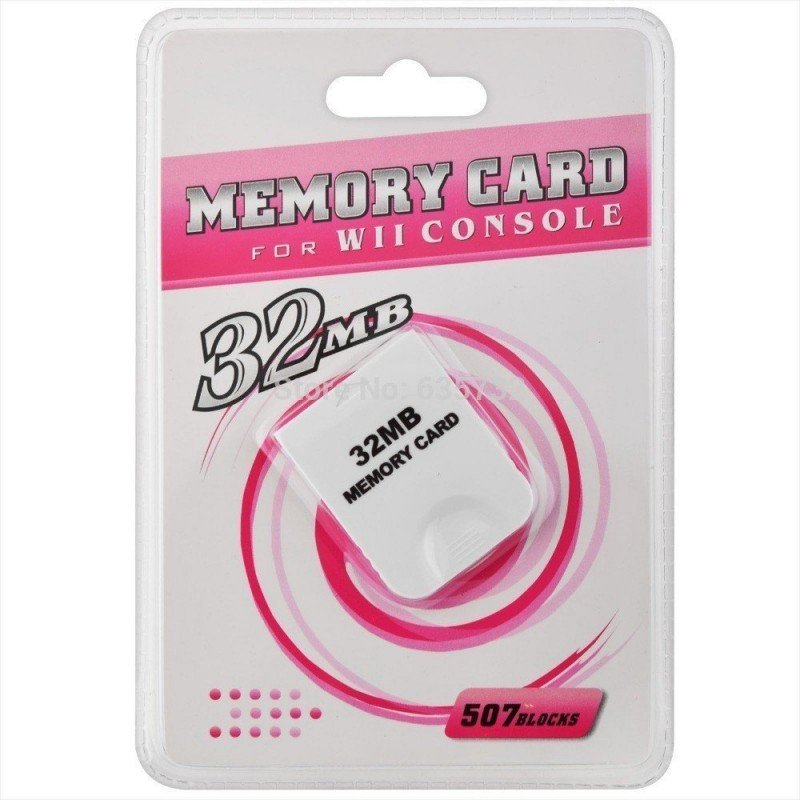 Memory Card 32Mg Wii & GameCube