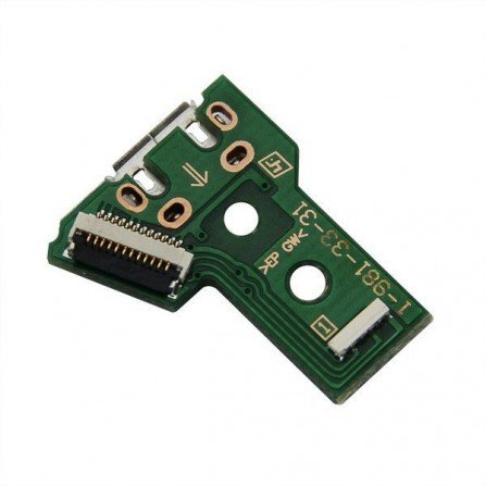 Placa carga + conector USB Mando Dualshock 4 PS4 JDS-040