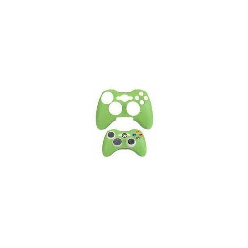 Protector de silicona mando XBOX360 - Verde -