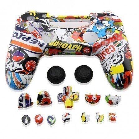 Carcasa completa + botones DualShock 4 PS4 - RACING