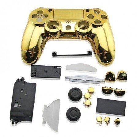 Carcasa completa + botones DualShock 4 PS4 - ORO