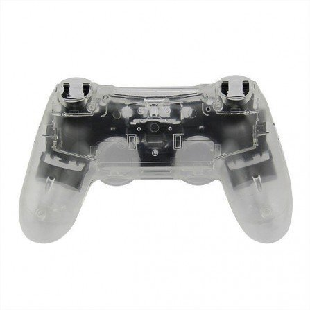 Carcasa completa + botones DualShock 4 PS4 - CRISTAL WHITE