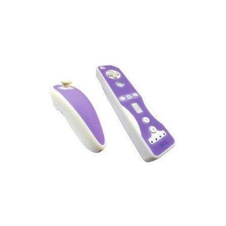 Protectores Silicona para mandos Wii *Violeta/Blanco*