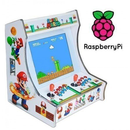 Maquina recreativa arcade RaspBerry PI 3 - Mario