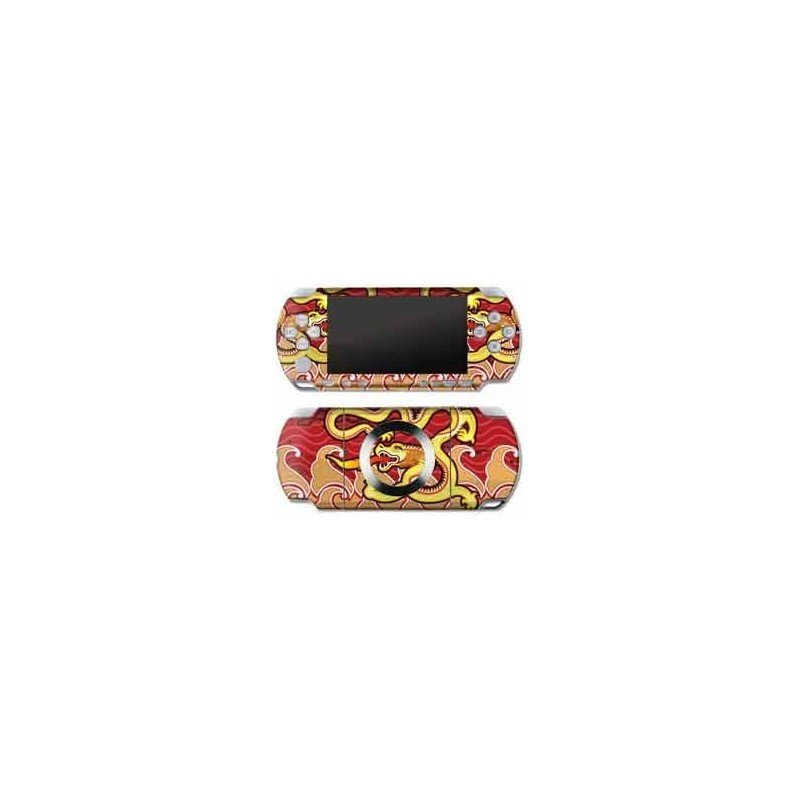 Double Dragon Skin PSP 2000/3000